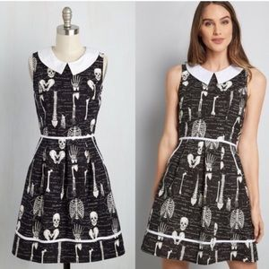 Modcloth Folter Rad to the Bone A-Line Dress
